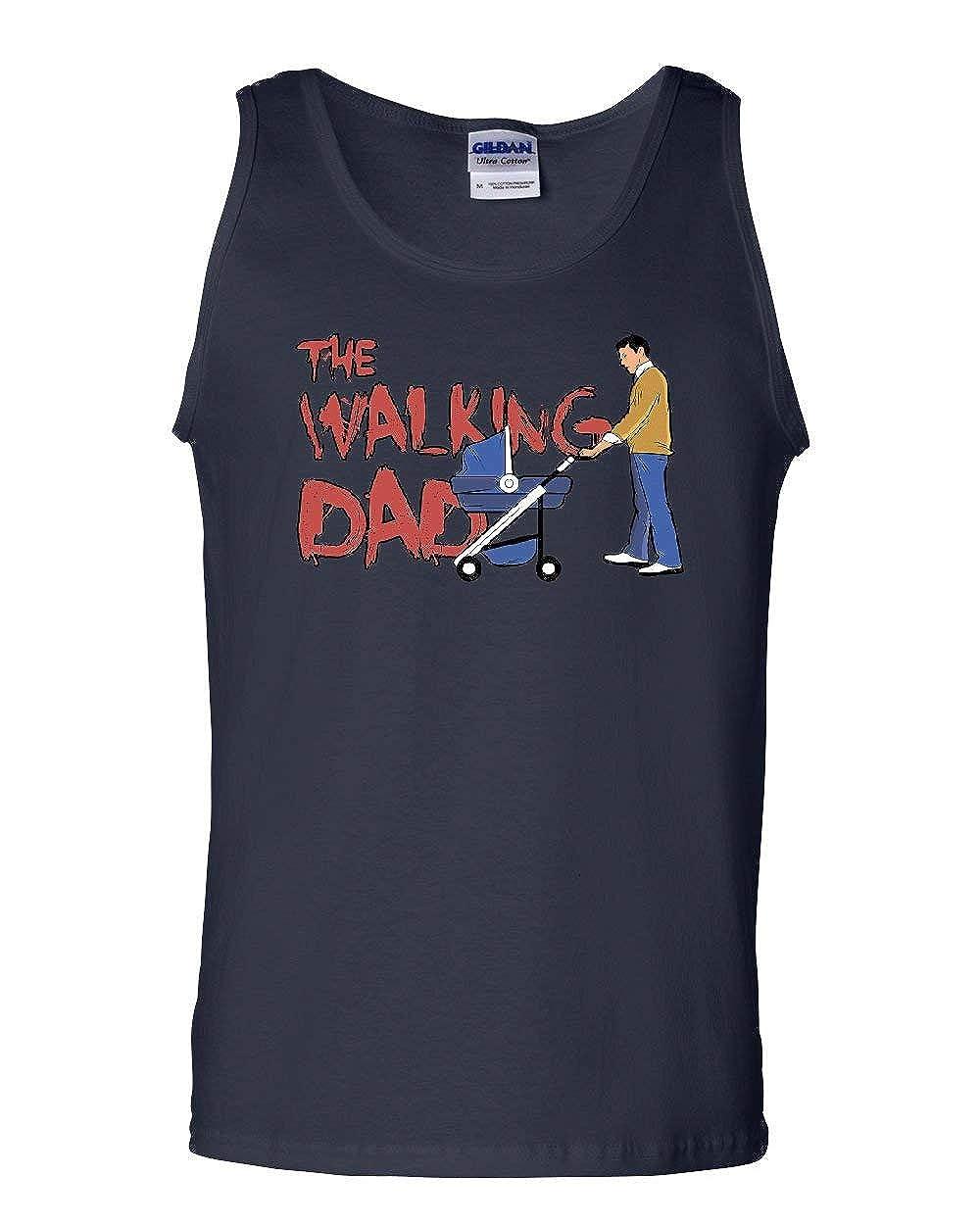 The Walking Dad Tank Top Fathers Day Parody Zombie Apocalypse Sleeveless
