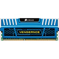 Corsair CMZ4GX3M1A1600C9B Vengeance Blue 4GB (1x4GB) DDR3 1600 MHz (PC3 12800) Desktop Memory 1.5V