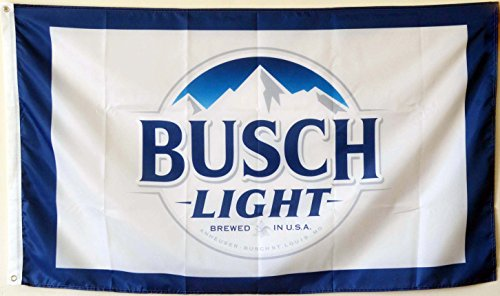 2But Busch Light Bud Beer Flag Banner 3x5 Feet Man Cave