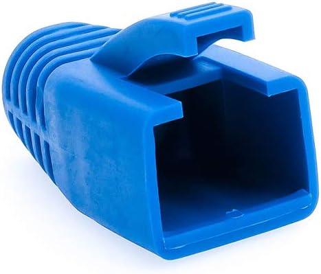Cable Length: 100pcs 7.0mm, Color: Black ShineBear 7mm Cat6 Cat6a Cat5e RJ45 Plug Ethernet Network Cable Strain Relief Boots RJ45 Plug Caps RJ45 Connector Colorful Boots HY1533