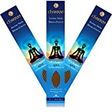 7 Chakras - 6 Ajna - Third Eye - Imagination - Primary Aromas are Cinnamon & Sage - 11 inch - 60 Minutes - 3x 20-pack - 100% Natural Hand Dipped Incense Sticks