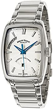 Armand Nicolet Mens Stainless Steel Watch