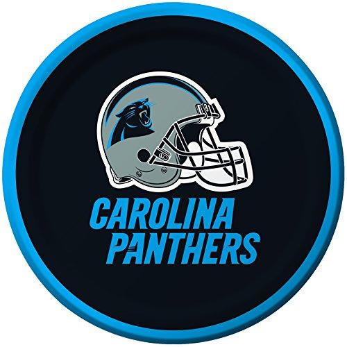 Creative Converting 8 Count Carolina Panthers Paper Dessert Plates - ()