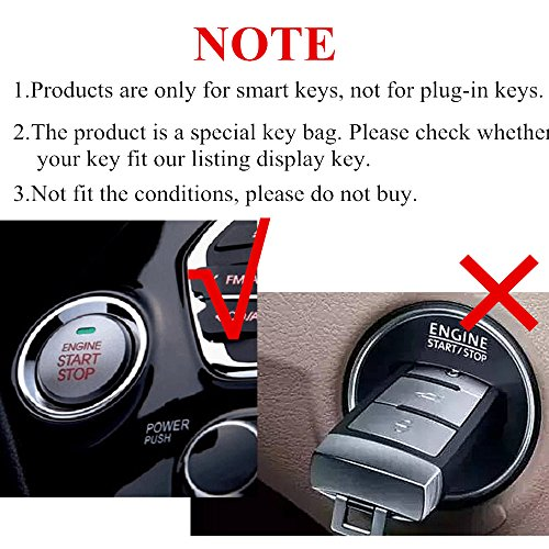 Genuine Leather smart case cover for Mercedes Benz key chain
