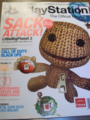 Playstation August 2010 Sack Attack! LittleBigPlanet 2 Call of Duty: Black Ops Rock Band 3 Metal Gear Solid Madden 11 Bulletstorm Killzone 3