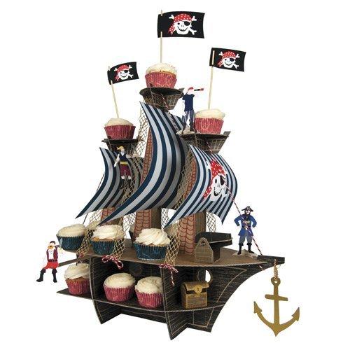 Meri Meri Centerpieces, Ahoy There Pirate Ship (Pirate Decoration)
