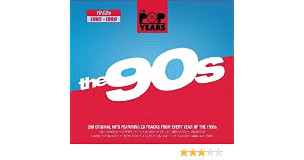 Pop Years-the 90s: Various : Amazon.es: Música