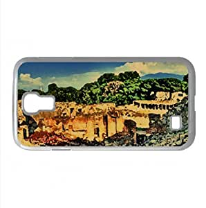 Ruins HDR Watercolor style Cover Samsung Galaxy S4 I9500 Case (Italy Watercolor style Cover Samsung Galaxy S4 I9500 Case)