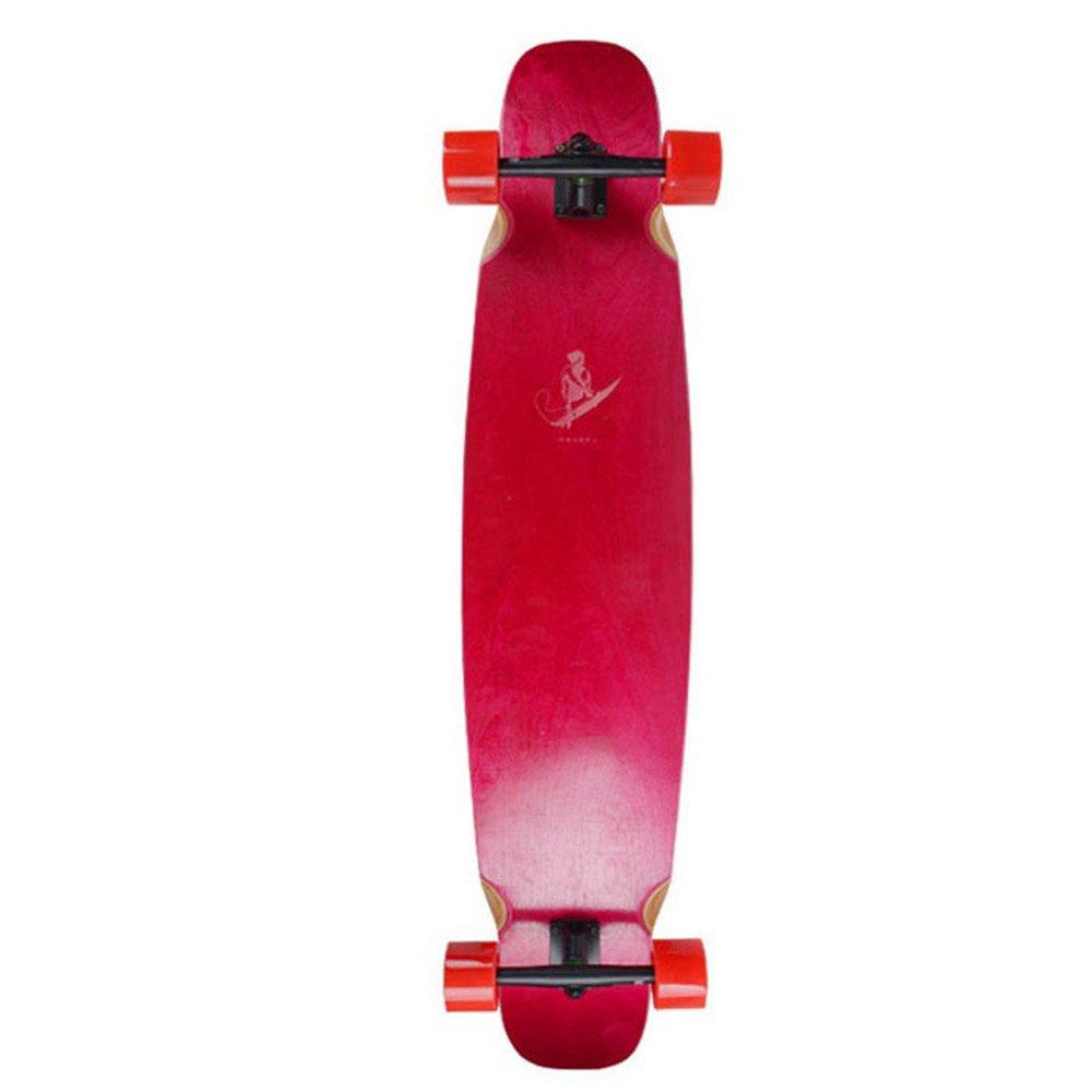 キャスタープレート スポーツスケートアダルトストリートロングボードスケートプラスメイプルダブルアップボード 10代のスケートボード