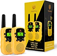 dmazing Walkie Talkies for Kids, 3 Mile Range - Festival Gifts for Kids