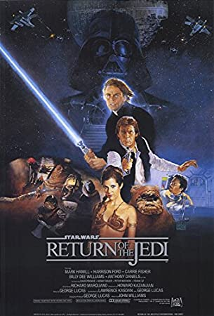 Image result for movie poster return of the jedi