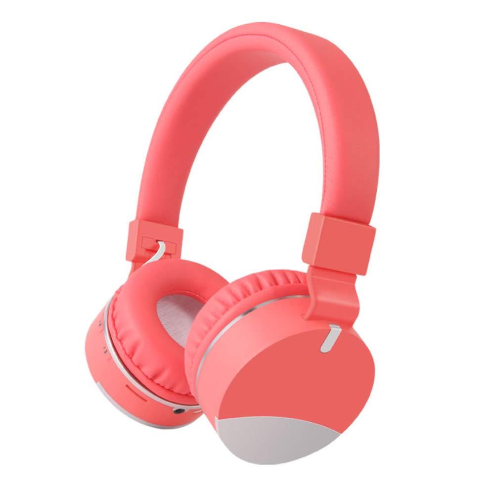 dulawei3 E86 ファッション 折りたたみ式 Bluetooth 4.1 ワイヤレス ゲーム用ヘッドホン ステレオ バス ヘッドセット ノイズキャンセリング イヤホン 音楽イヤホン, レッド, R8GVYRA652K  レッド B07PCPNGPF