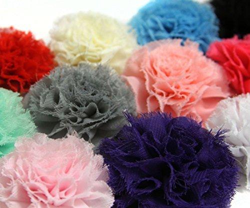 Sunshine Shoppe Supply (Mini Chiffon Puff Flowers - Grab Bag 15 Crafting)