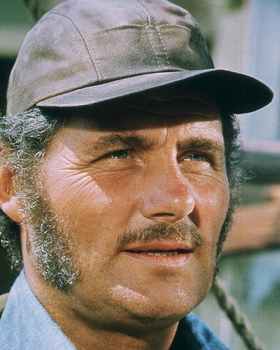 Robert Shaw 8×10 Promotional Photograph close-up as Quint from Jaws