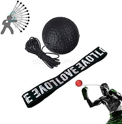 Boxeo Lucha Lucha de reflejo de bola, bola, bola con cinta para la ...