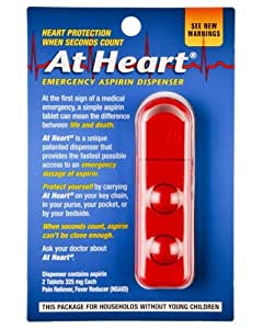 At Heart Emergency Aspirin Tablet Dispenser