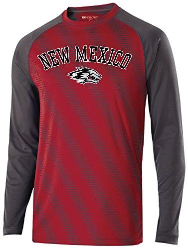 Ouray Sportswear NCAA New Mexico Lobos Men's Long Sleeve Torpedo Shirt, Small, -