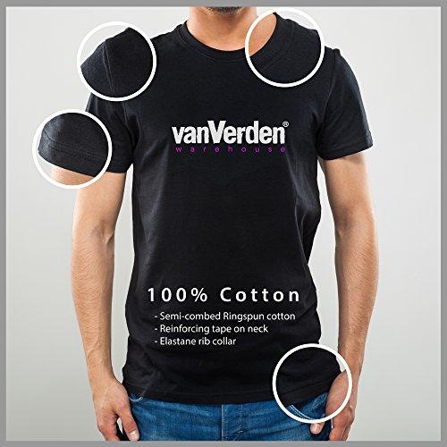 Men shirt Motivo Cane Zampe Walk Never Vanverden Con Bianco Alone Slogan T p1xqvdn