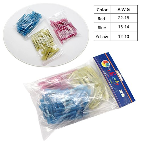 125pcs-Wire-Connectors-Sopoby-Heat-Shrink-Wire-Connector-Kit-Waterproof-Assorted-Crimp-Connector-Electrical-Set-22-10GA50Red-50Blue-25Yellow