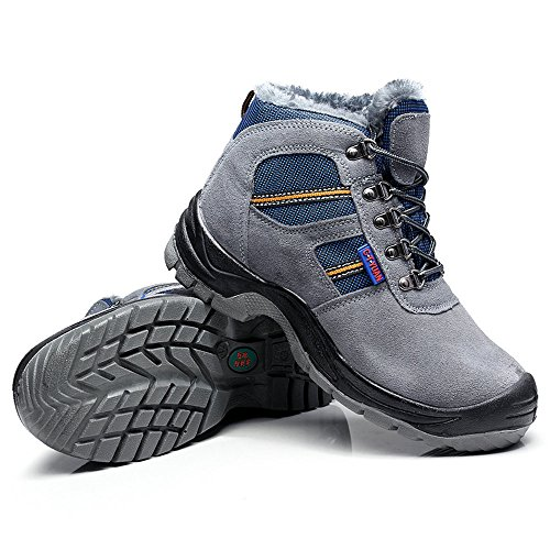 steel puncture unisex amp;construction work proof shoes 28 toe safety shoes industrial Gray shoes gqAdqa