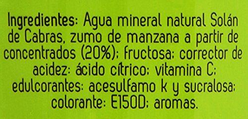 BISOLAN - Solan De Cabras Refresco Sin Gas Sabor Manzana Botella 33 Cl - [confezione da 8]: Amazon.es: Alimentación y bebidas