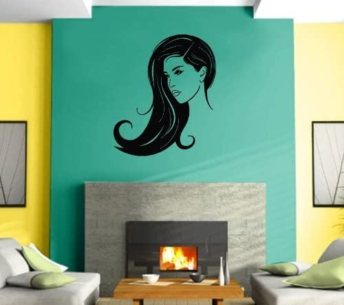 Amazon Com Hairdresser Woman Beauti Salon Spa Vinyl Wall Decals Removable Salon Wall Decor Art Sticker For Hair Nail Eyelash Spa Salon For Girl Salon Pictures Wall Decor Red White Gold