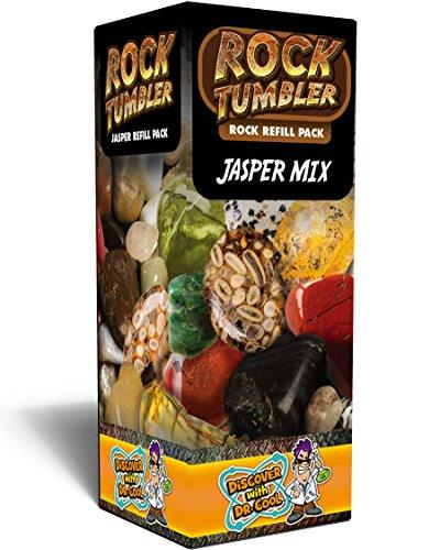 Rock Tumbler Refill Pack - Jasper Mix Gear Art And Craft Toys, 2017 Christmas Toys (Mix Jasper)