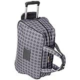 Ninewest Addison 20 Inch Wheeled Bowler Bag, Grey/Pewter, One Size