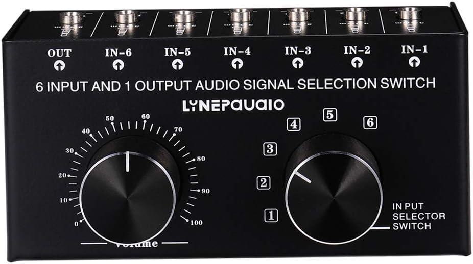 Zubehr Hifi & Audio sumicorp.com Shiwaki 6 Eingang 1 Ausgang ...