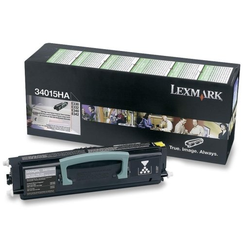 Lexmark 34015HA High-Yield Toner Cartridge, Black - in Retail Packaging
