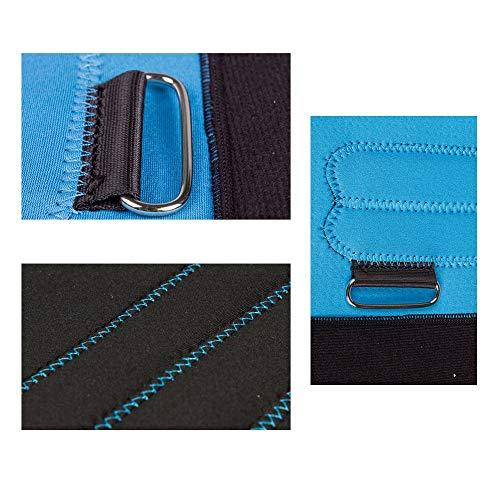 Leg Straightener Straps To Correct O/X Type Leg Correction Belt Band Beauty Leg Straighten Tape Bandage Adjustable Double Belt Strap Fixing (Color : Blue, Size : M) by Sharon (Image #5)