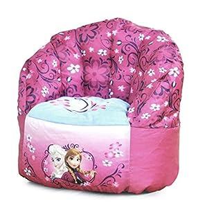 disney toddler frozen bean bag chair toys games. Black Bedroom Furniture Sets. Home Design Ideas