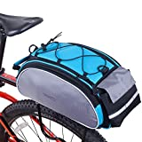 Best Roswheel Bicycle Baskets - Roswheel Bicycle Bag Multifunction 13L Bike Tail Rear Review