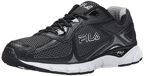 Fila Quadrix las zapatillas de running Black / Black / Metallic Silver