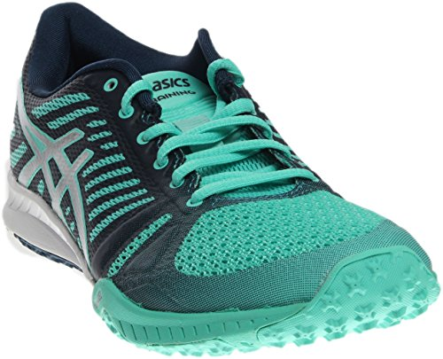 ASICS Women's Fuzex TR Cross-Trainer Shoe, Cockatoo/Silver/Poseidon, 7 M US