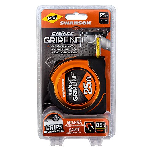 Swanson Tool SVGL25M1 25-Feet Magnetic Savage Grip Line Tape Measure by Swanson Tool (Image #2)