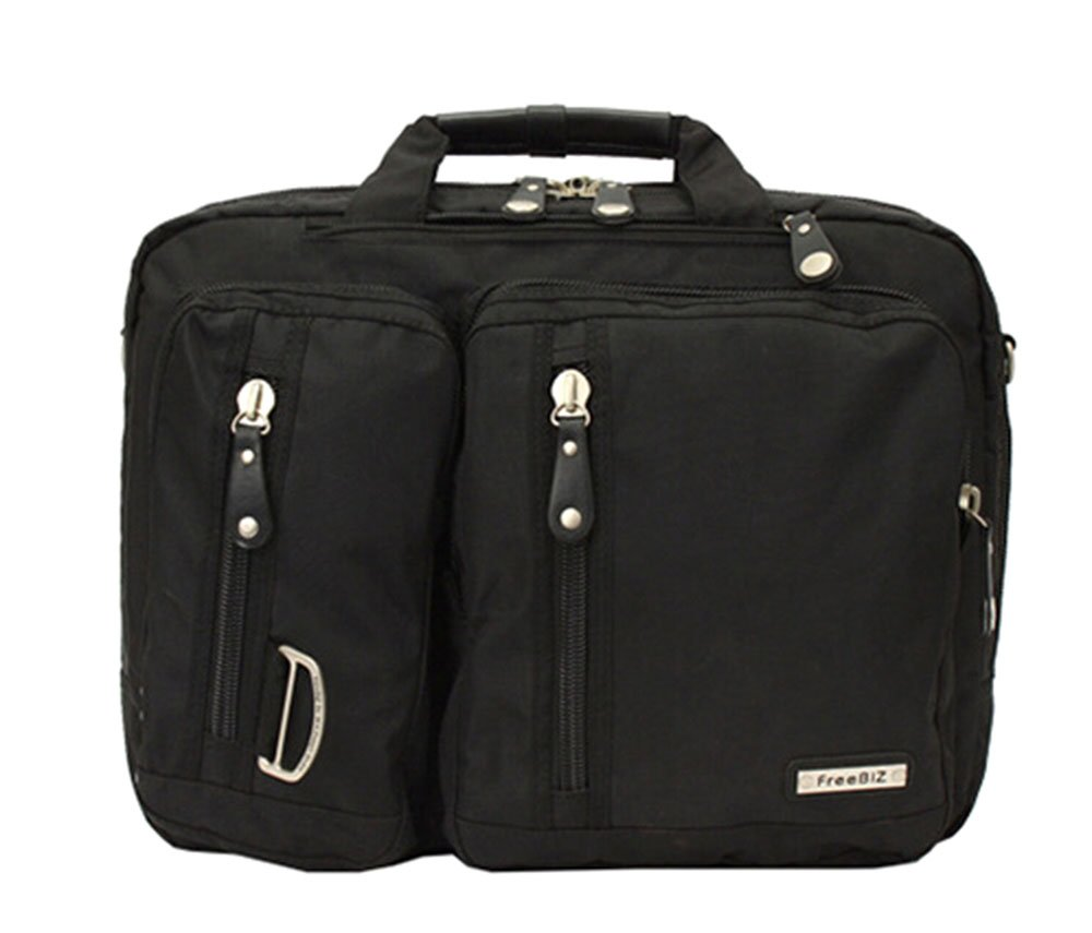 Bronze Times (TM) 17.3 Inch Business Travel Gear Laptop Shoulder Bag Backpack (Black)