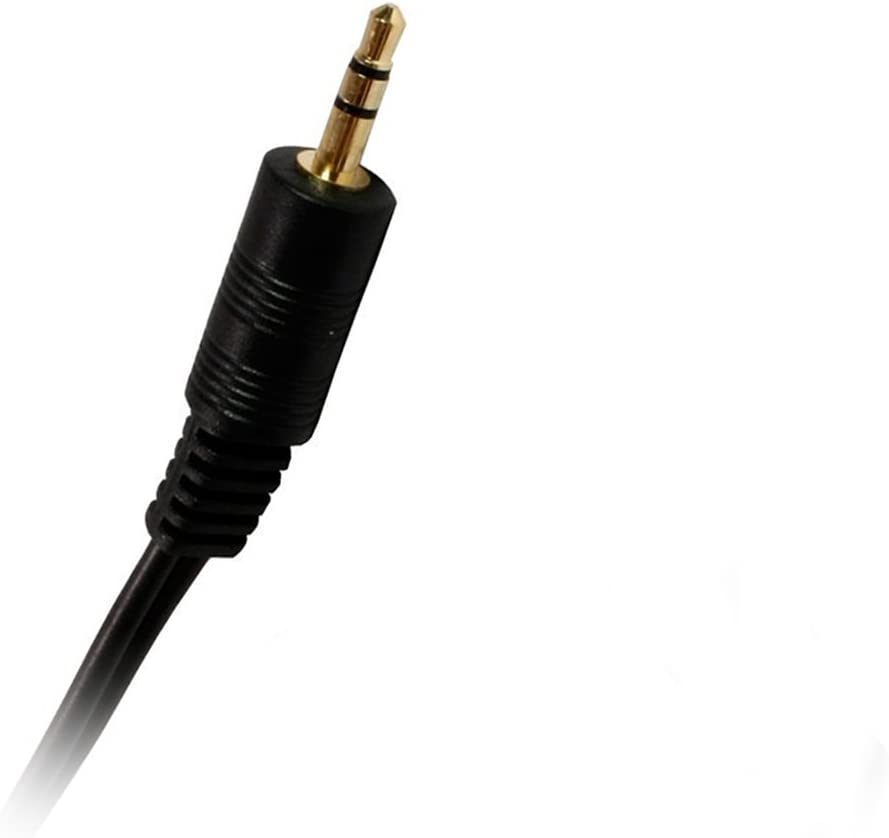 2 Pack ACLgiants 25-Feet 3.5mm Stereo Male to Female Extension Cable Gold Plated Connector