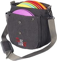 Disc Living Disc Golf Bag | Frisbee Golf Bag | Lightweight Fits Up to 10 Discs | Belt Strap | | Adjustable Sho