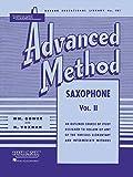 Rubank Advanced Method: Saxophone, Vol. II (Rubank Educational Library)