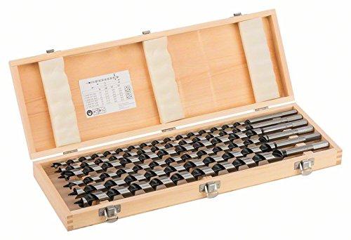 Bosch Pro 6tlg. Holzschlangenbohrer-Set mit 1/4 Zoll-Sechskantschaft