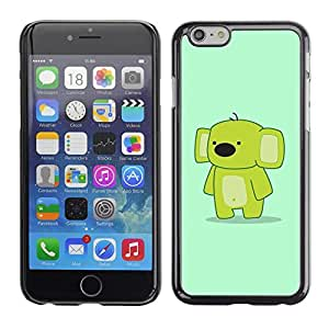 Impact Case Cover with Art Pattern Designs FOR Apple Iphone 6 Plus 5.5 Funny Cute Friendly Koala Betty shop