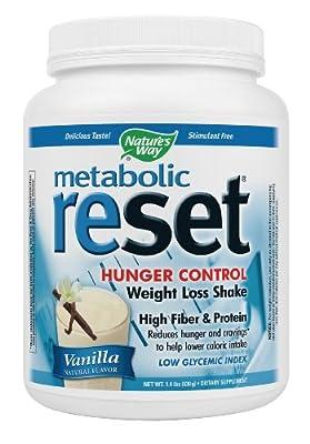 Nature's Way Metabolic ReSet Vanilla Shake 1.4 Lb from NATURE'S WAY
