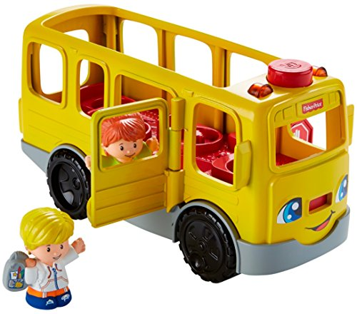 51UdobzTTzL - Fisher-Price Little People Sit with Me School Bus Vehicle
