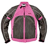 Vega Technical Gear Mercury Ladies Mesh Jacket (Pink, Medium)