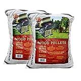 Z GRILLS BBQ Wood Pellet Grilling Oak pellets,20LB Per Bag (2) Made in USA