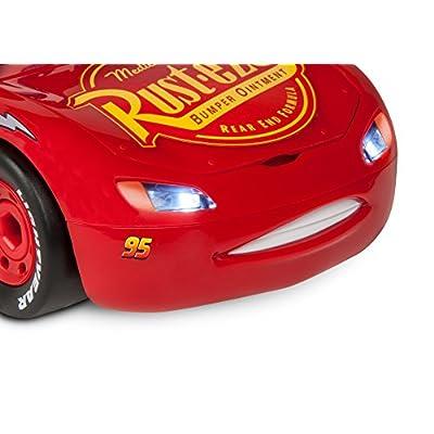 Revell Jr. Cars 3 Lightning McQueen Model Assembly Kit Model Kit: Toys & Games