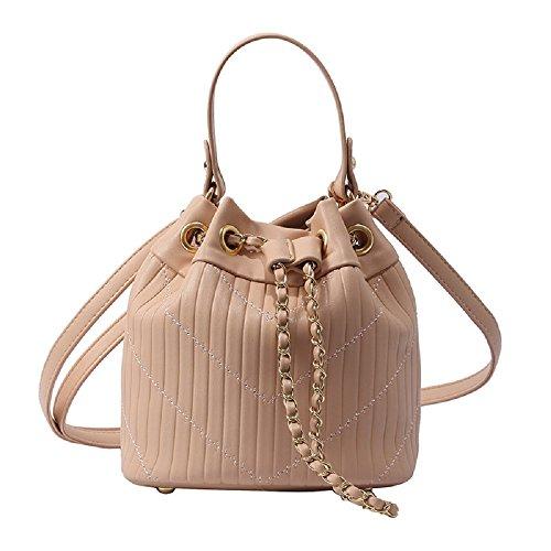bandoulière Tote Sac Blanc Bags à bandoulière Sac Main couleur Rose Girl à Zhrui Fashion ZfIqRw