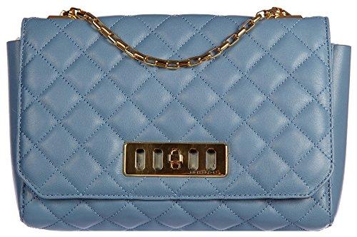 Michael Kors sac à l'épaule femme en cuir vivian blu
