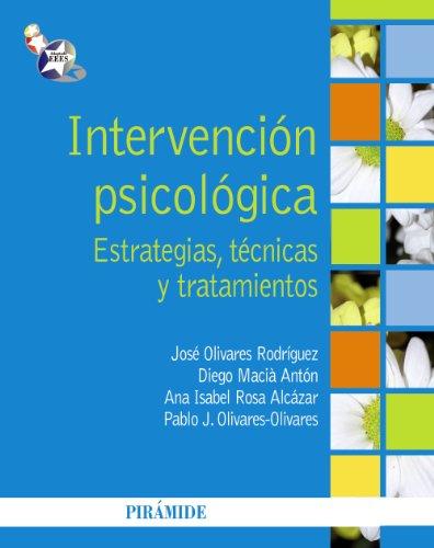 intervención psicológica estrategias técnicas y tratamientos pdf gratis